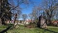 Kranichfeld Friedhof,Alter FriedhofDenkmale für die Gefallenen der Kriege 1870-71 und 1914-1918.jpg