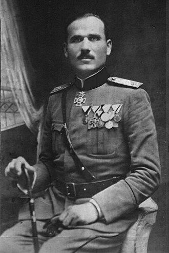 Christmas Uprising - Krsto Zrnov Popović was one of the leaders of the uprising.