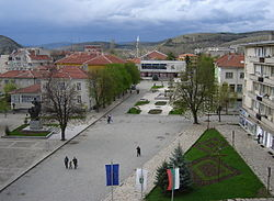 Centre of Krumovgrad