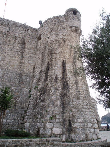 Kula citadele u Budvi