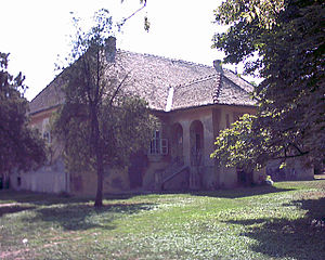 Stefan Stratimirović - Stratimirović family house in Kulpin, Serbia.