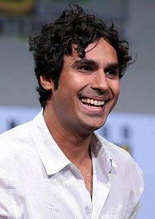 Kunal Nayyar British-Indian actor