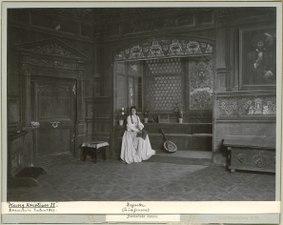 Kung Kristian II, Dramatiska teatern 1899. Föreställningsbild - SMV - H10 022.tif
