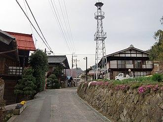 The Tomioka Silk Mill and Related Industrial Heritage - Image: Kuni Akaiwa settlement 02
