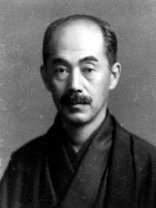 Portrait of a middle-aged Japanese man with moustache