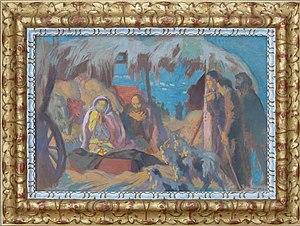 Ateliers d'Art Sacré - Image: L'adoration des Bergers