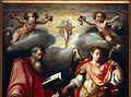 L'empoli, San Giovanni Evangelista e l'arcangelo Gabriele 03.JPG
