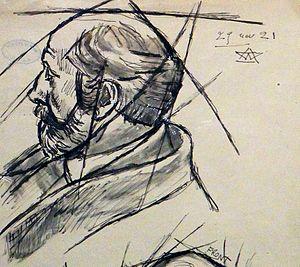 Auguste Perret - Auguste Perret in 1921