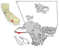 LA County Incorporated Areas Malibu highlighted.svg