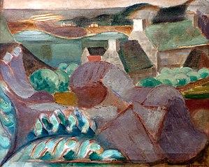 Maisons dans les rochers à Ploumanac'h