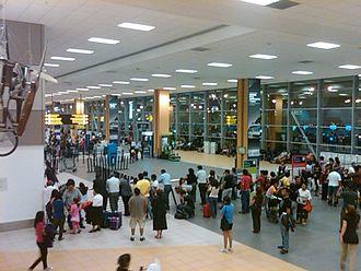 Jorge Chávez International Airport - Main terminal