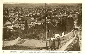 Le funiculaire vers 1905