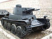 LTP tank preserved at Real Felipe, Callao, Peru