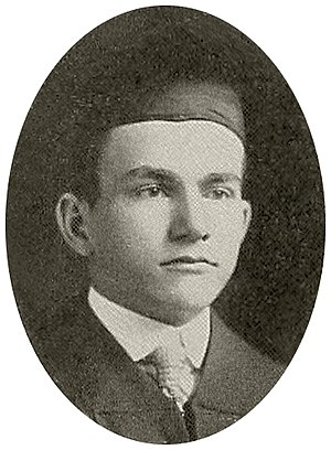 Leander Perez - Perez in 1914 as Tulane Law School graduate