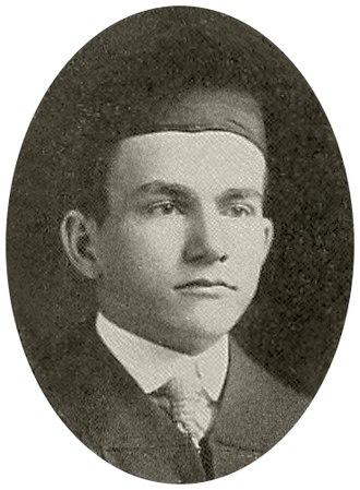 Leander Perez - Perez in 1914 as Tulane Law School graduate