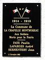 La Chapelle-Montmoreau plaque mémorial.JPG