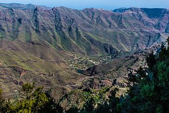 La Gomera - Volcanic valley of La Gomera