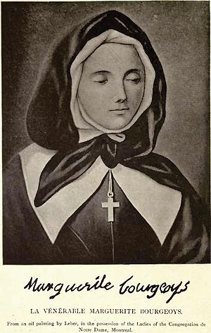 Pierre Le Ber - Image: La Venerable Marguerite Bourgeoys by Pierre Le Ber