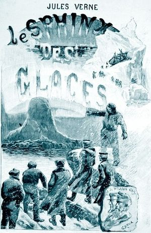 An Antarctic Mystery - Frontispiece of French edition