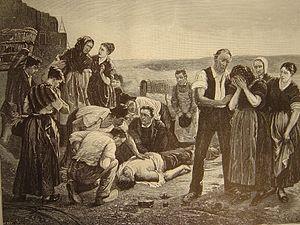 Émile Sacré - Image: La mort du puisatier