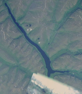 Image satellite du Lac Ayan.
