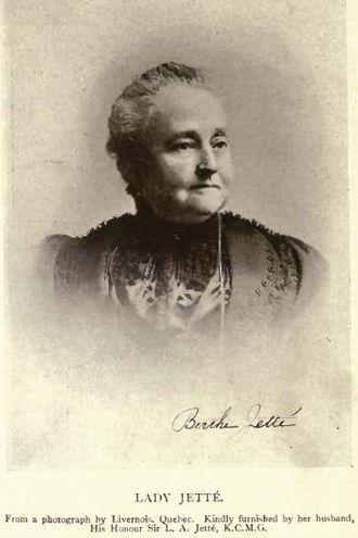 Louis-Amable Jetté - Lady Jetté by Livernois, Quebec