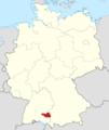Lage des Landkreises Biberach in Deutschland.png