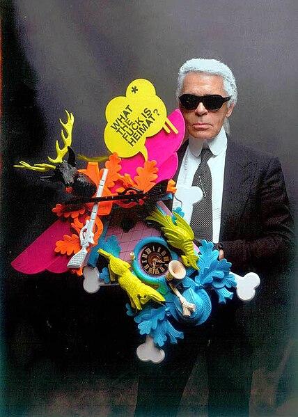 Karl Lagerfeld kun kukolhorlogho