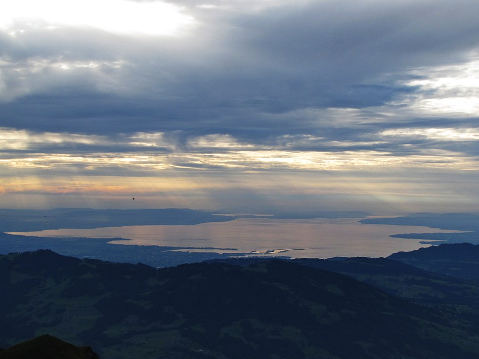 Lake Constance from Winterstaude (East to West)