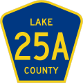 Lake County 25A.svg