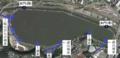 Lake Senba Mito Ibraki Water inflowoutflow diagram.png