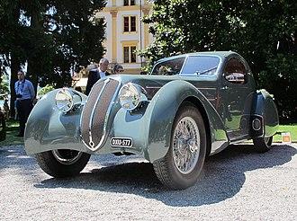 Carrozzeria Castagna - Image: Lancia Astura front