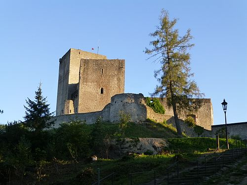 Landštejn Castle late evening 487.jpg
