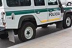 Land Rover Defender der Slowakischen Polizei in Bratislava 02.jpg