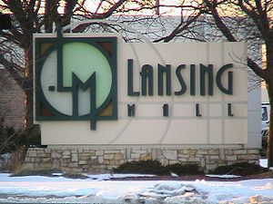 Lansing Mall Sign-Lansing, Michigan.JPG