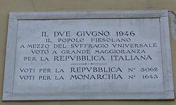 Photo of White plaque number 39236