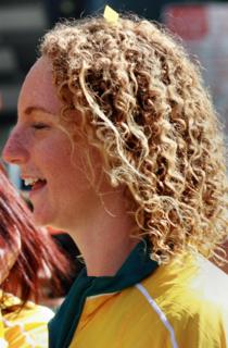 Lara Davenport Australian swimmer, Olympic gold medallist
