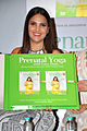 Lara Dutta launches her 'Prenatal Yoga' DVD (3).jpg