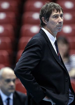 France men's national volleyball team - Current head coach – Laurent Tillie.