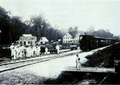 Lawa Railway in Suriname - Official opening at Koffiedjompo (later Lelydorp) on 28 March 1905.png