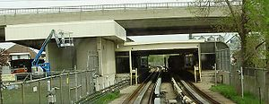 Lawrence East TTC From Tracks.jpg