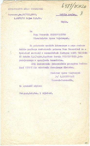 File:Leśniewski, Józef - List gen. Leśniewskiego do gen. Sosnkowskiego - 701-001-057-034.jpg