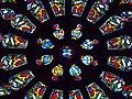 Le Folgoët (29) Basilique Vitrail du couronnement 03.JPG