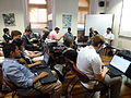 Lectures and talks - Wikimania 2011 P1040172.JPG