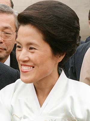 First Lady of South Korea - Image: Lee Soon Ja 01