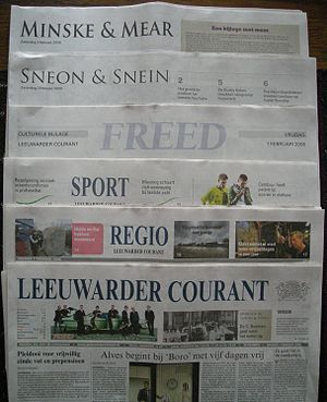 Leeuwarder Courant - Image: Leeuwarder Courant (bijlagen) 01