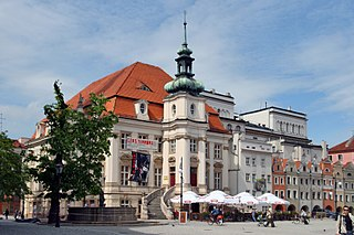 Legnica Place in Lower Silesian, Poland