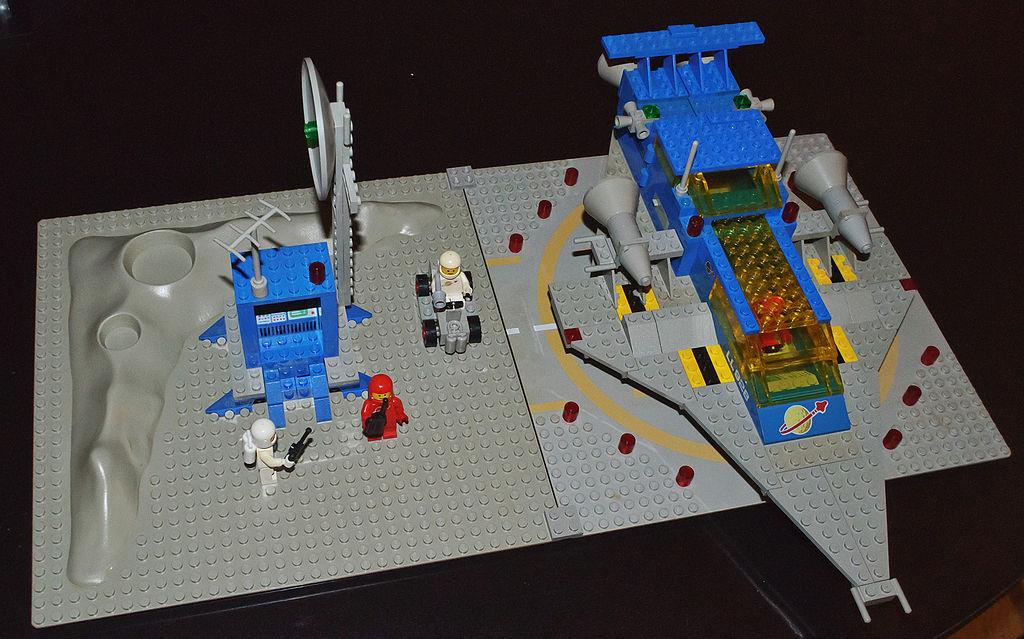 Large Lego Building Platform