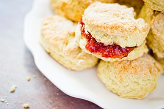 By Benson Kua from Toronto, Canada (Lemon Scones  Uploaded by tm) [CC-BY-SA-2.0 (http://creativecommons.org/licenses/by-sa/2.0)], via Wikimedia Commons