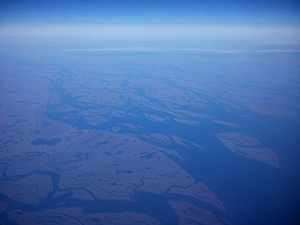 Lena River - Lena River Delta in Autumn 2014